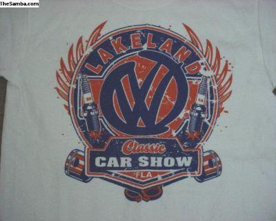 T-shirt Lakeland Fl VW Classic Car Show 14-16