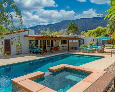 San Jacinto Hacienda - Resort-Style Mountain View Pool Home. Close to Town! - Palm Springs