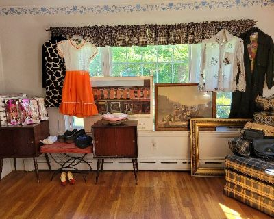 GREAT ONE DAY ONLY MENDON ESTATE THURSDAY SEPT 23RD 9AM-2PM ANTIQUES ACCORDIONS COLLECTIBLES & MORE!