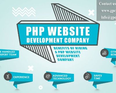 PHP Web app development company