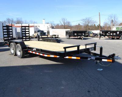 2021 Fox Trail 82x20 CF Series Equipment Trailer 14K Trailer Harrisburg, PA