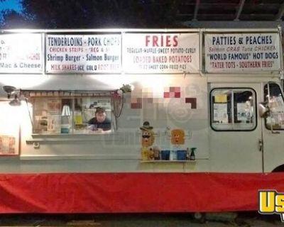 18' Chevrolet Step Van Used Kitchen Food Truck / Kitchen on Wheels