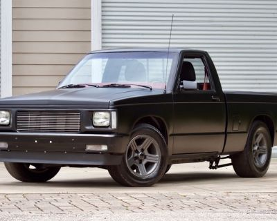 1985 Chevrolet S-10 All-Steel Pickup Restored Small Block V8 Truck Engine Swap