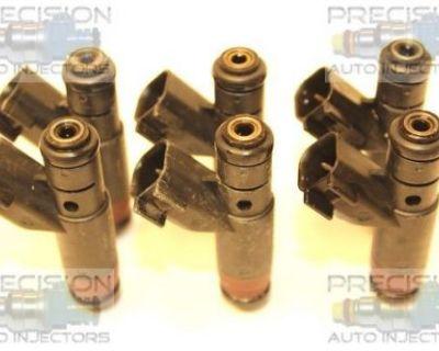 Set Of 6 Rebuilt 1998 - 1999 Chrysler Intrepid 2.7l Fuel Injectors