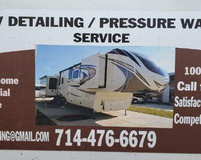 JB RV Detailing / Pressure Washing Service