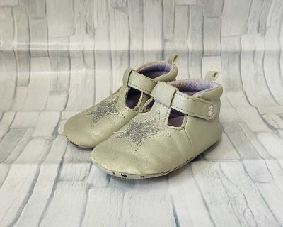 Surprize by Stride Rite Heidi Silver Booties