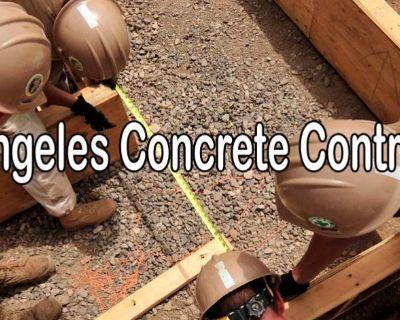 Los Angeles Concrete Contractors