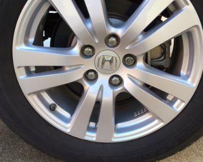 FS 2017 Ridgeline RT OEM 10 spoke silver wheels and tires $250 (Louisville KY)