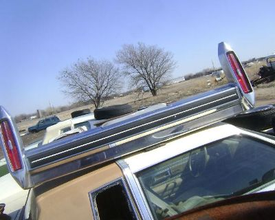 Cadillac Coupe Deville Rear Bumper & Tailights Solid 1978 78 1979 79 1980 80