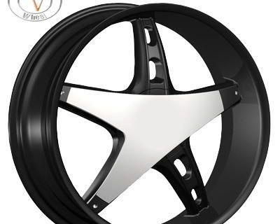 """26"""" Velocity 930 Chrome Wheels Rims Tires Chevy Camaro Monte Carlo El Camino"""