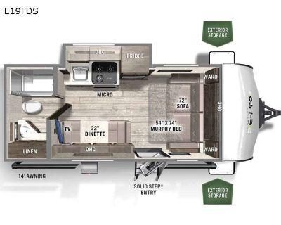2022 Forest River Rv Flagstaff E-Pro E19FDS