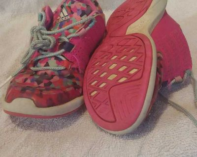 Size 11 Adidas sneakers pink