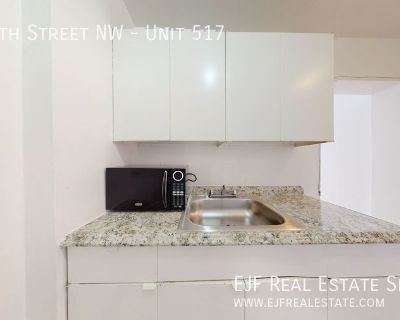 Foggy Bottom Studio With All Utilities Included, Pool, 24/7 Front Desk, & More!