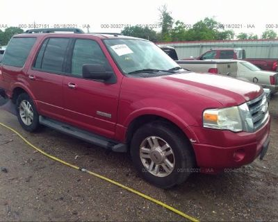 Salvage Red 2008 Ford Expedition