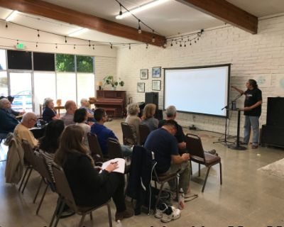 Retreat and Workshops in Multi-Purpose Community Space, Castro Valley, CA