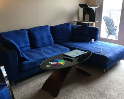 Sectional Sofa and Matching Chair