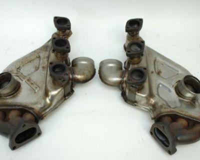 Porsche 993 Engine Heat Exchangers Biscoff Exhaust 99321103907 99321104007