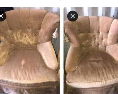 Two sitting chairs in good condition better in person