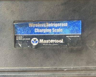Wireless Refrigerant Charging Scale With Solenoid