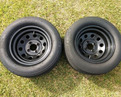 Rims and Slick for a Honda 4 lug (Makes your car faster)