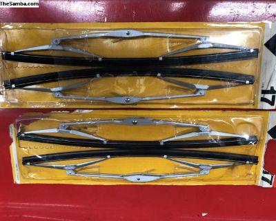 """NOS SWF German wiper blades 64-70 Ghia 12"""""""