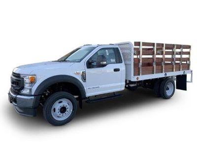2020 FORD F550 Stake Bed Trucks Truck