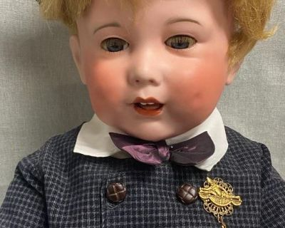 Yellow Dog Online Auction #180 Vintage Dolls, Religious Figurines, Collectibles, & Estate Jewelry