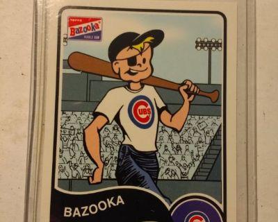 2003 Topps Bazooka Joe Chicago Cubs Mint.