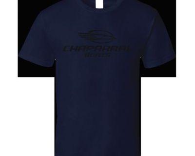 Chaparral Boat Logo Tee, Navy, Xl