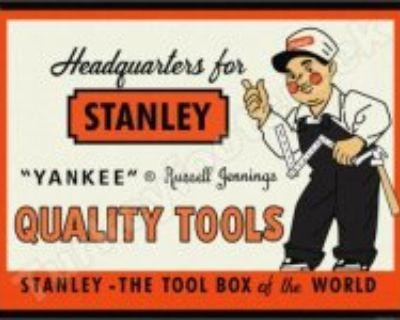 Stanley Tool Man (cartoon type character) in vintage ads