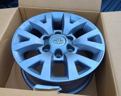 FS/FT 2017 Tacoma SR5 Stock/OEM wheels