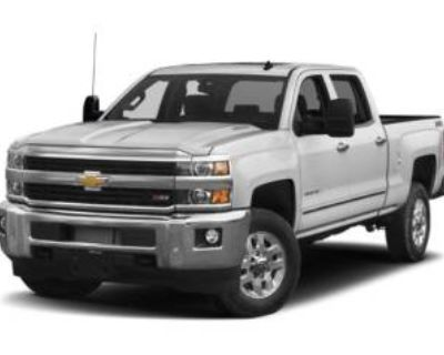 2016 Chevrolet Silverado 3500HD LTZ Crew Cab Long Box 4WD DRW