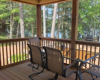 Lake views from upper unit screened porch - Phillips