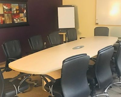 Private Meeting Room for 12 at Inspired Workspace (Presidio)