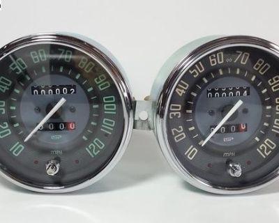 ISP Vintage Series Trip Speedometer MPH