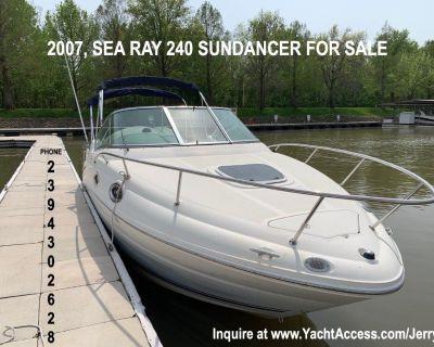 2007, SEA RAY 240 SUNDANCER For Sale