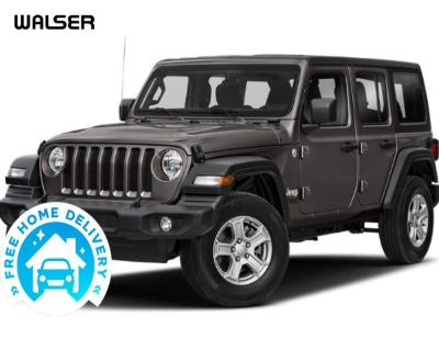 Pre-Owned 2018 Jeep Wrangler Unlimited SPORT 4X4 HARDTOP