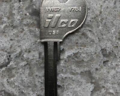 "*NEW* Ilco ""K"" Code Key Blank"