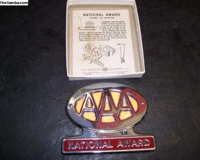 AAA License Emblem