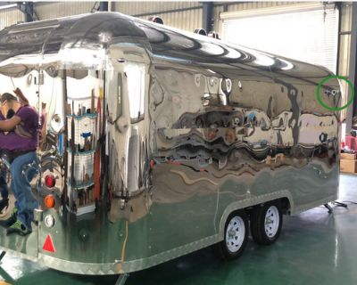 Stainless Food Truck - stainless steel / 2020 / 2020