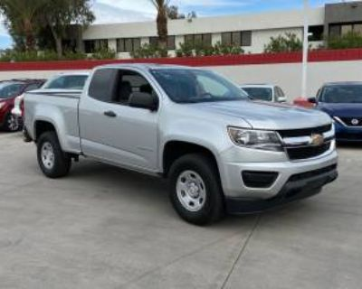 2018 Chevrolet Colorado Work Truck Extended Cab Standard Box 2WD Manual