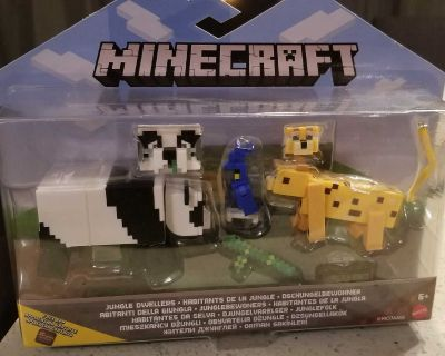 New Minecraft toy ( Son is selling this item)