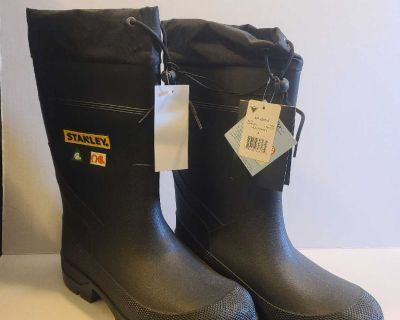 Stanley Insulated Steel Toed Rain Boots