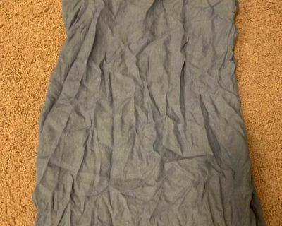 Spaghetti strap Jean dress from forever 21