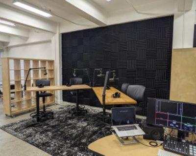 Podcast & Content Studio in Fashion District, Los Angeles, CA