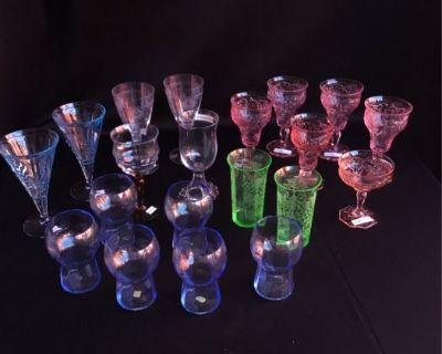 (Castle Rock) Fabulous Collection of Depression Glass, Figurines, Antiques, Vinyl Albums, MORE!
