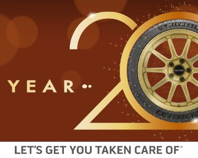 New Year's Resolutions for your tires! What do you have planned?
