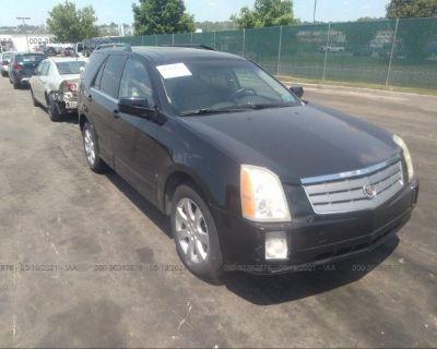 Salvage Black 2007 Cadillac Srx