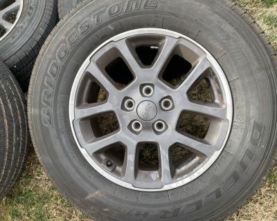 Georgia - 4 Overland wheels/tires + spare