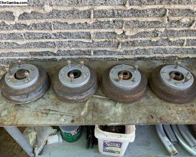 Wheel Adaptors 4 Lug VW to 5x4.5 w/ Drums